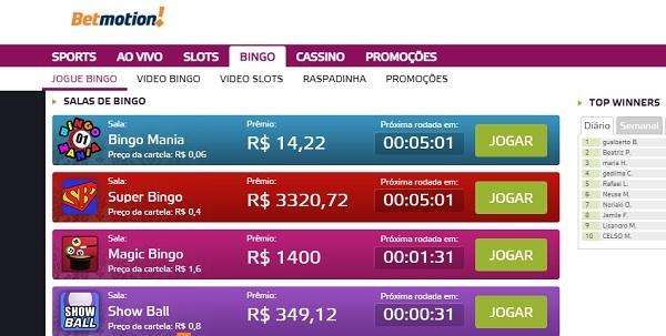 bingo betmotion brasil
