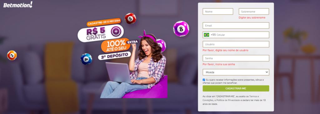 Bônus de Boas-Vindas Bingo Online